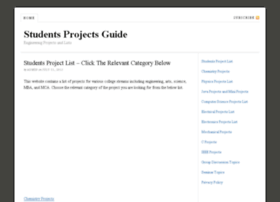 studentsprojectsguide.in