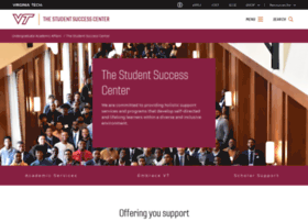studentsuccess.vt.edu