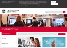 studentsystems.ed.ac.uk