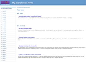 studentupdate.manchester.ac.uk