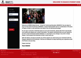 studentzone-ngasce.nmims.edu