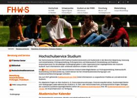 studienangelegenheiten.fhws.de