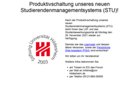 studienbewerbung.uni-hildesheim.de