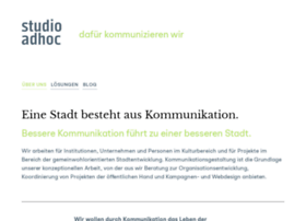studioadhoc.de