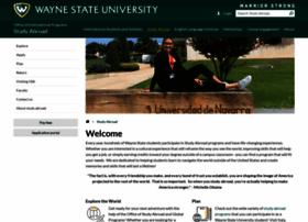 studyabroad.wayne.edu