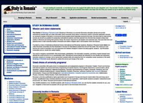 studyinginromania.com