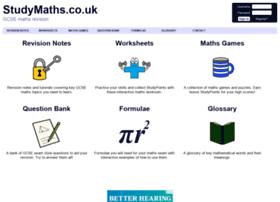 studymaths.co.uk