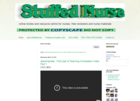 stuffednurse.blogspot.com