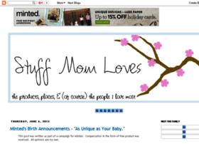 stuffmomloves.blogspot.com