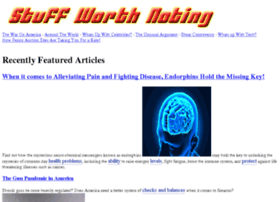 stuffworthnoting.com