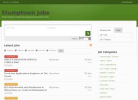 stumptownjobs.com