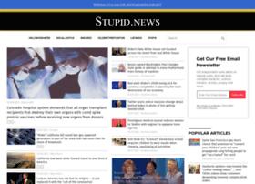 stupid.news