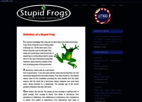 stupidfrogs.org