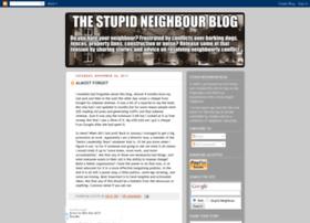 stupidneighbour.blogspot.com