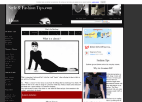 style-and-fashion-tips.com