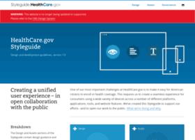 styleguide.healthcare.gov