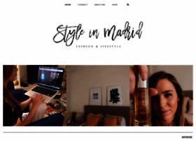 styleinmadrid.com