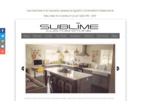 sublimecustomstone.com