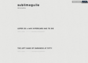 sublimeguile.com
