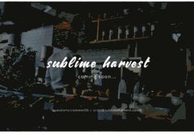 sublimeharvest.com