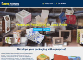 sublimepackaging.com