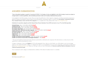 submissions.oscars.org