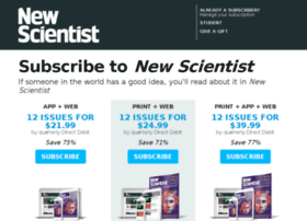 Subscribe.newscientist.com