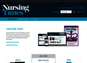 subscribe.nursingtimes.net