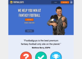 subscribers.footballguys.com