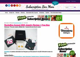 subscriptionboxmom.com
