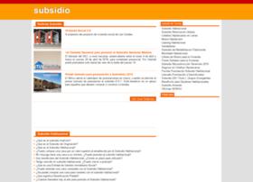 subsidio.cl