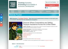 subsidytracker.goodjobsfirst.org