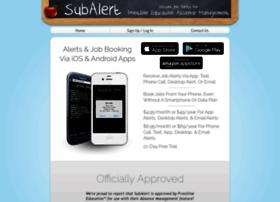 substitutealert.com