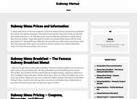 subwaymenus.net