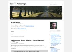 successponderingsdotcom.wordpress.com