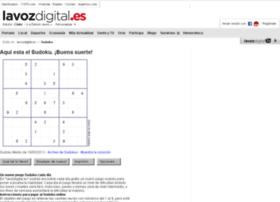 sudoku.lavozdigital.es