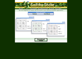 sudokusnake.com