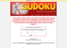 sudokuvideotutorials.com