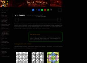sudokuwiki.org