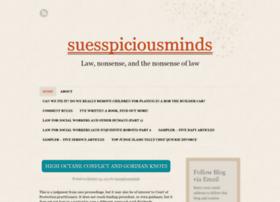 suesspiciousminds.com