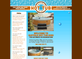 suffolkhottub-hire.co.uk