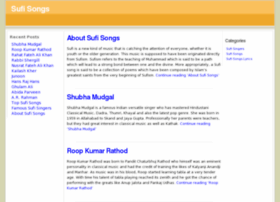 sufi-songs.com