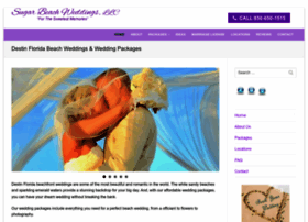 sugarbeachweddings.com