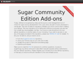 sugarforge.org