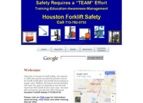 sugarland.houstonforkliftsafety.com