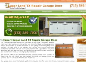 sugarland.repairgaragedoor.co