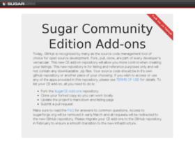 sugaropensource.org