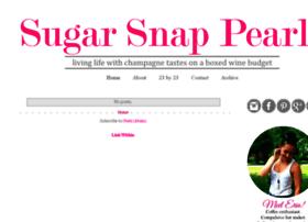 sugarsnappearls.com