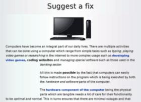 suggestafix.com
