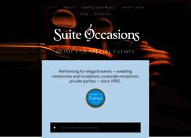 suiteoccasionsmusic.com